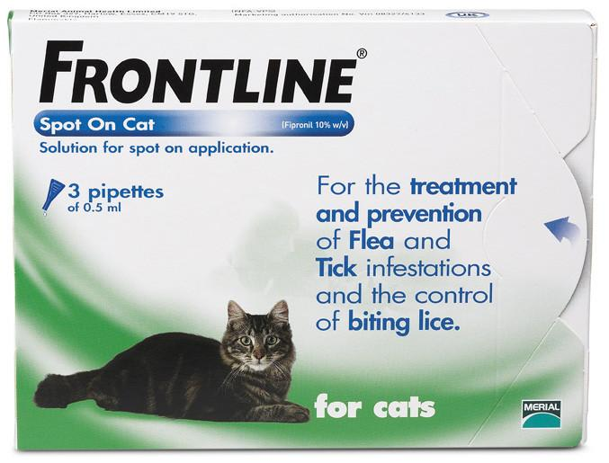 Frontline Spot On Flea Treatment For Cats