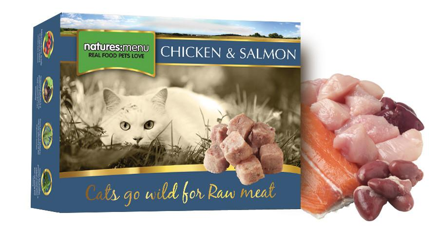 Natures Menu Frozen Chicken and Salmon Cat Food