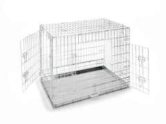 "24"" Chrome Dog Crate"