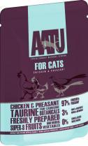 Aatu Chicken & Pheasant 85g Cat Food x 6pk