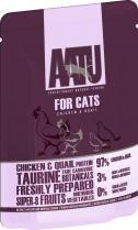 Aatu Chicken & Quail 85g Cat Food x 6pk