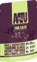 Aatu Duck & Chicken Liver 85g Cat Food x 6pk