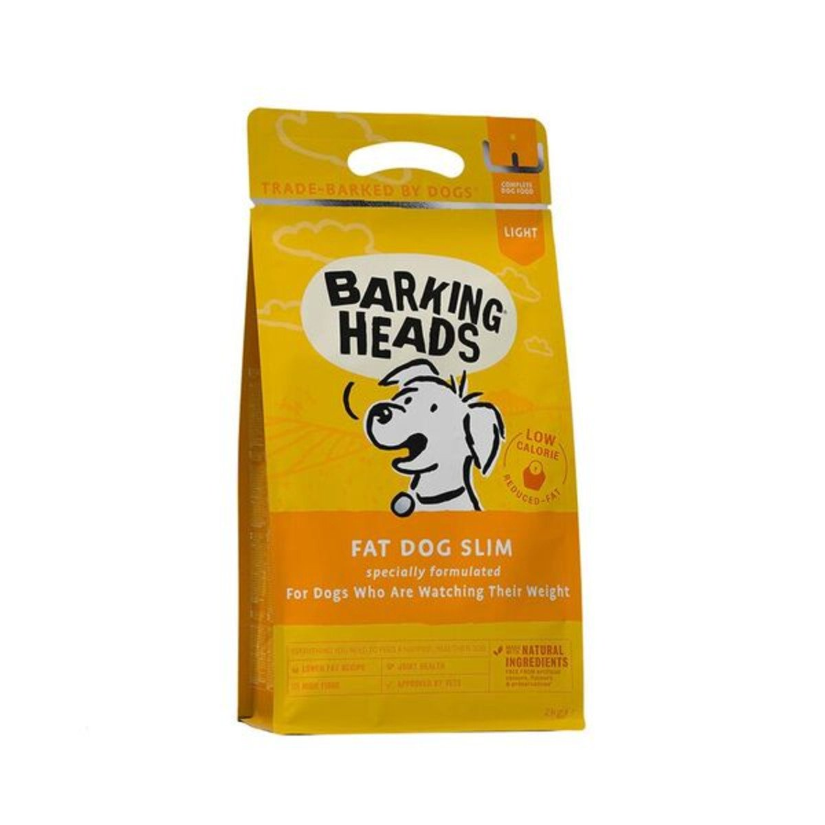 Barking Heads Fat Dog Slim Adult Light Rice & Chicken Dry Dog Food