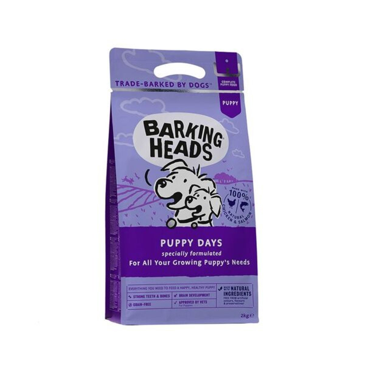 Barking Heads Puppy Days Salmon and Chicken Dry Dog Food