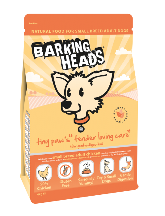 Barking Heads Tiny Paws Tender Loving Care Dog Food