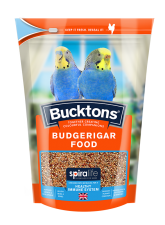 Bucktons Budgerigar Food with Spiralife 500g