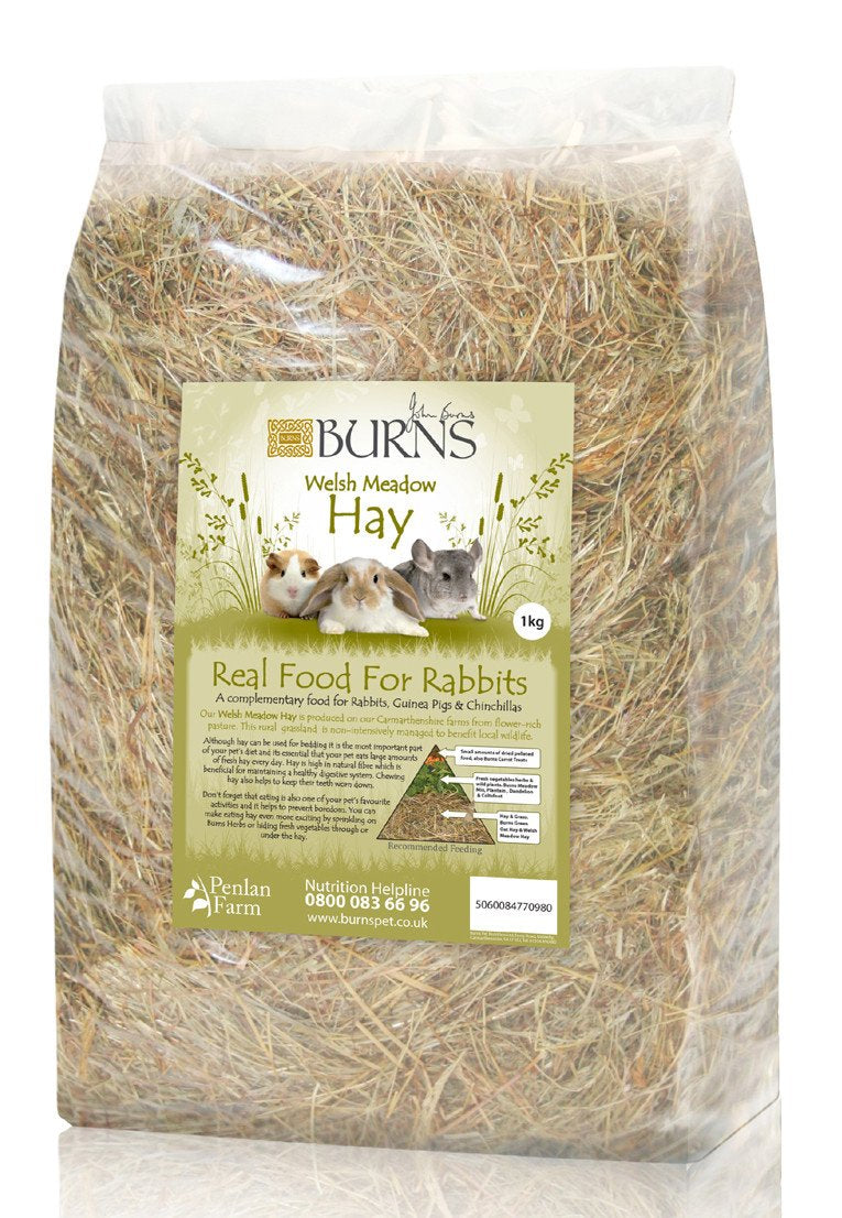Burns Welsh Meadow Hay 1kg