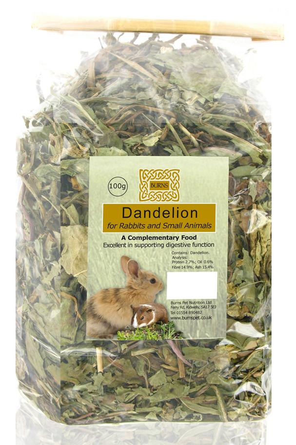 Burns Herbs Whole Dandelion 100g