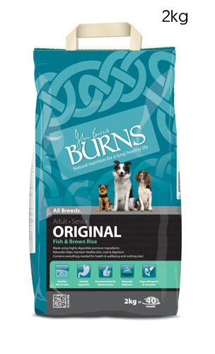 Burns Original Adult Fish Dog Food