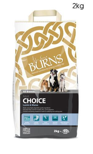 Burns Choice Adult Lamb and Maize Dog Food