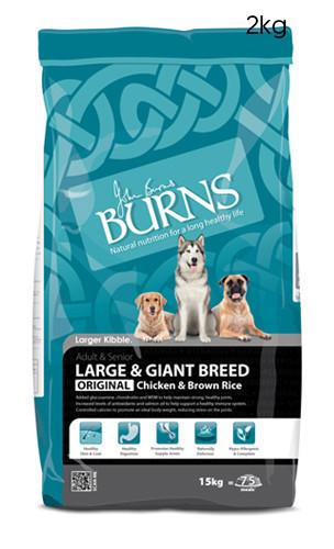 Burns Large Breed Chicken and Brown Rice Dog Food