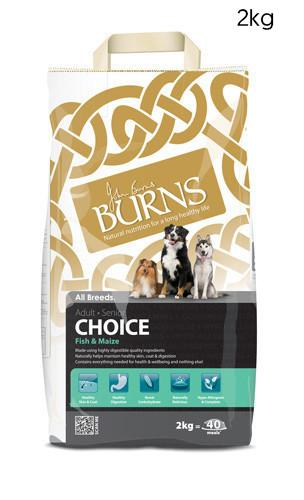 Burns Choice Adult Fish and Maize Dog Food