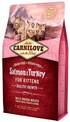 Carnilove Salmon & Turkey For Kittens