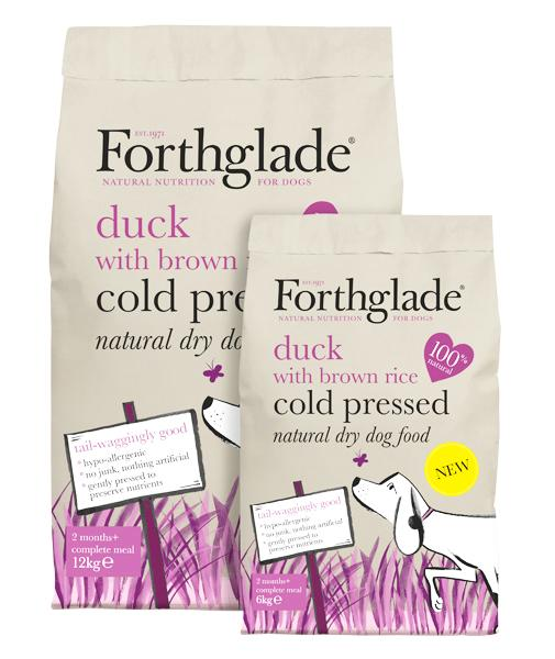 Forthglade Cold Pressed Duck with Brown Rice Dog Food