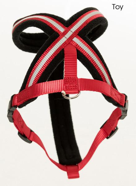 Comfy Dog Harness In Red
