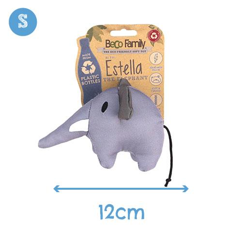 Beco Pets Estella The Elephant Dog Toy