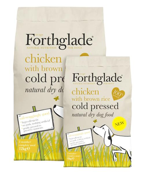 Forthglade Cold Pressed Chicken with Brown Rice Dog Food