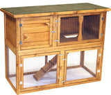 Pet Specialist Garden Hutch & Run