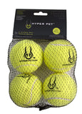 Hyper Pet Tennis Balls Yellow 4pk
