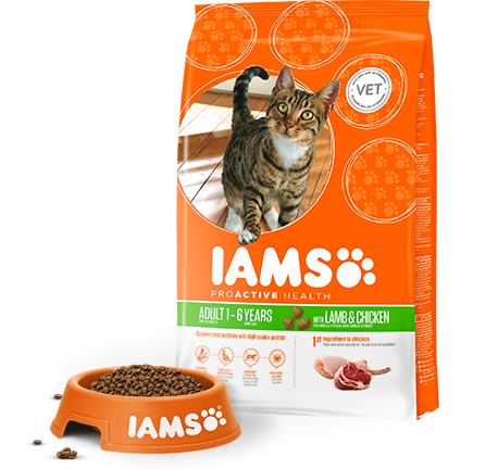 Iams Lamb and Chicken Cat Food 3kg