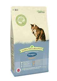 James Wellbeloved Hairball Cat Food