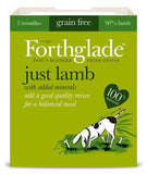 Forthglade Just Range of Complimentary Dog Food 395g x 7pk