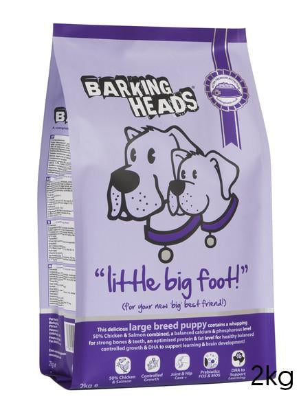 Barking Heads Little Big Foot
