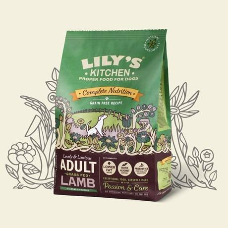Lilys Kitchen Lovely Lamb with Peas and Parsley Dog Food