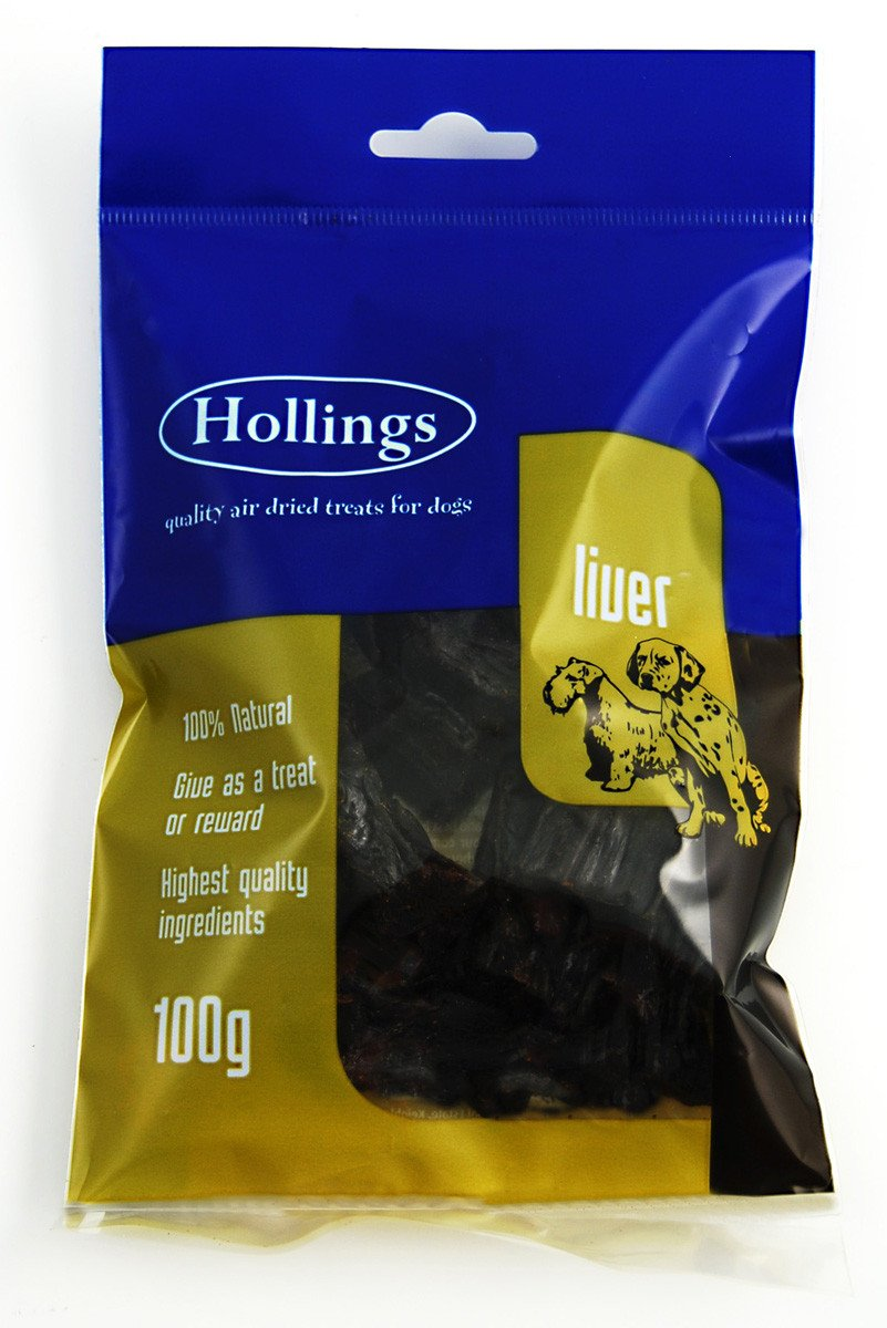 Hollings Air Dried Liver 100g