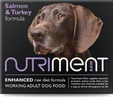 Nutriment Salmon with Turkey Dog Food