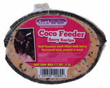 Suet To Go Half Coconut Feeder Berry