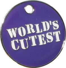 World's Cutest Dog Engravable ID Tag