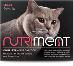 Nutriment Beef Cat Food 500g