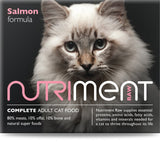 Nutriment Salmon Cat Food 500g