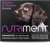 Nutriment Venison with Chicken Dog Food