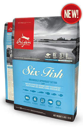 Orijen Six Fish Cat Food