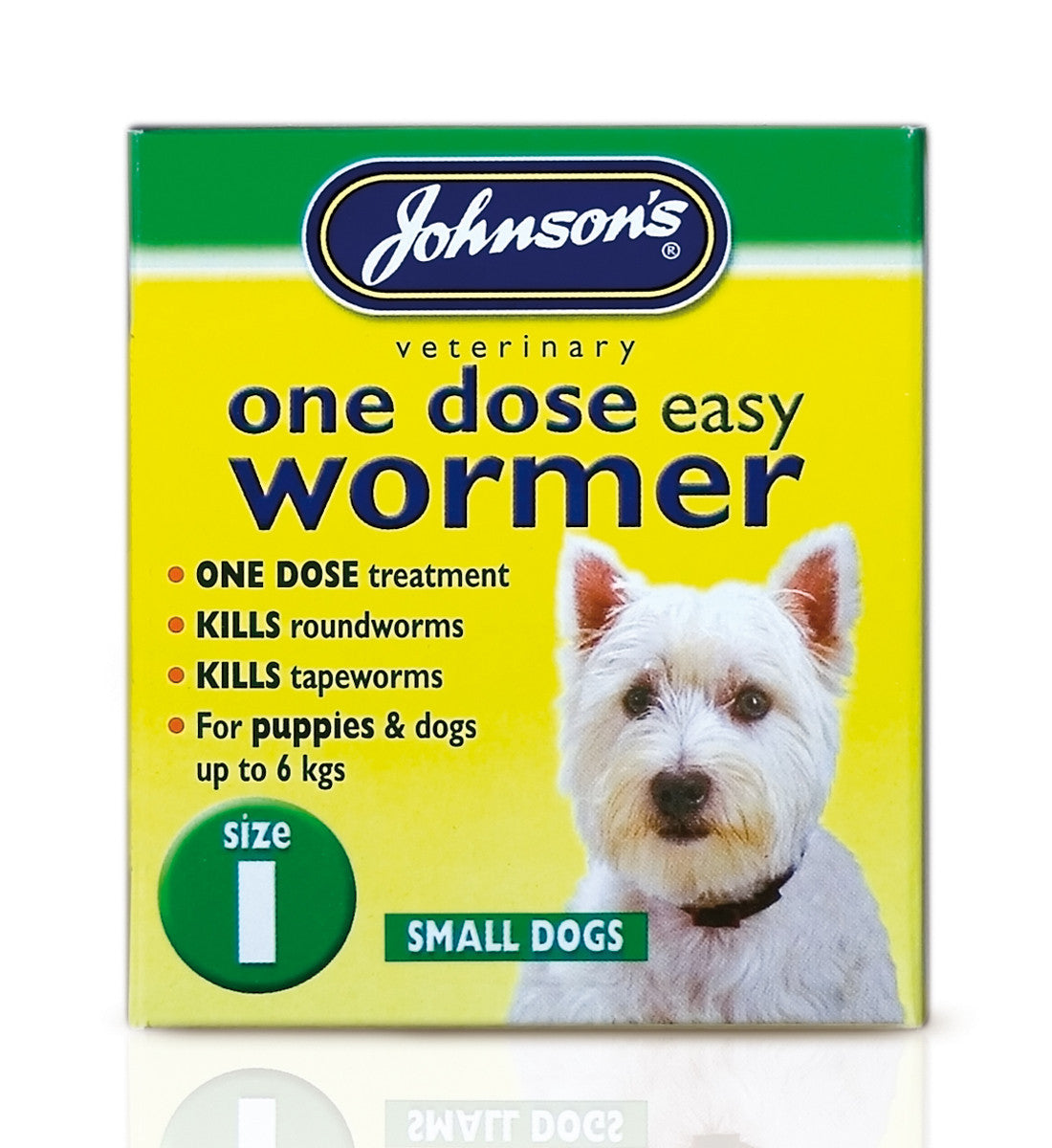Johnsons One Dose Easy Wormer For Puppies