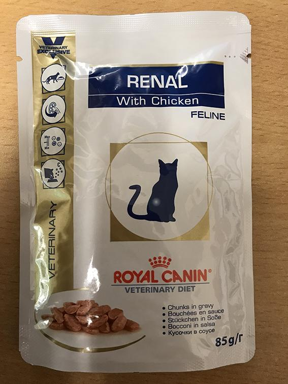 Royal Canin Renal Cat Pouches 12 pack