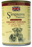 Simpsons Certified Organic Adult Chicken Casserole 400g