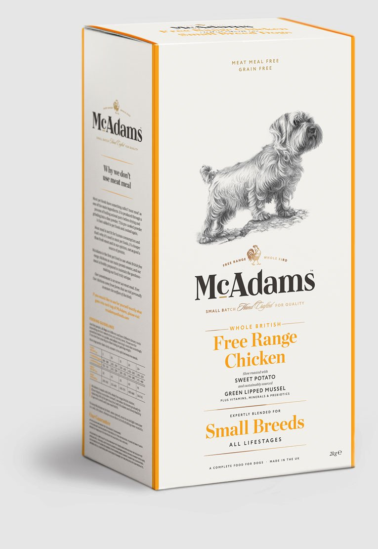 Mcadams British Free Range Chicken For Small Breed Dogs