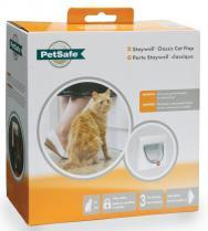Staywell Classic Manual 4 Way Locking Cat Flap With Tunnel