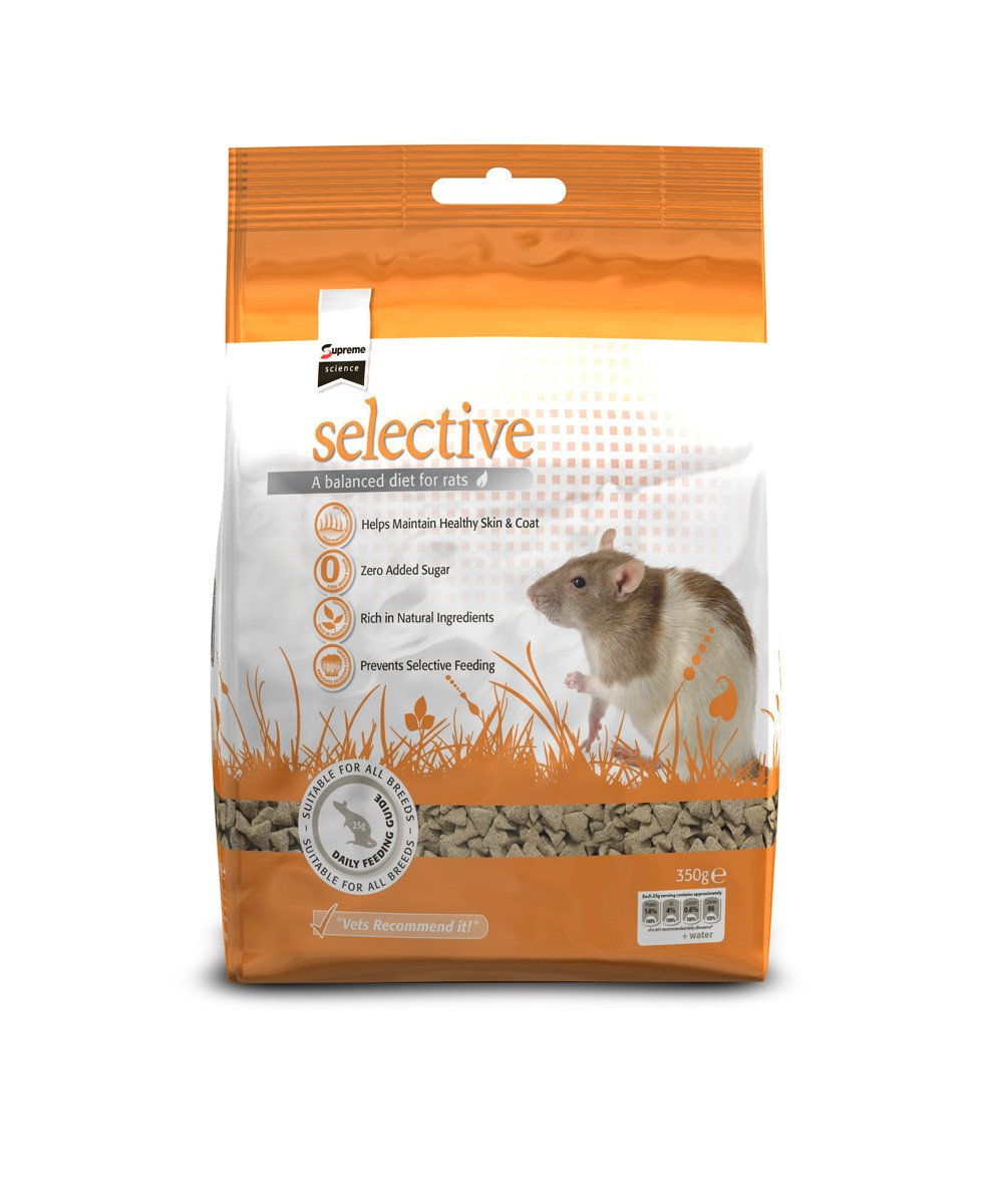 Science Selective Rat Apple & Blackcurrant Food