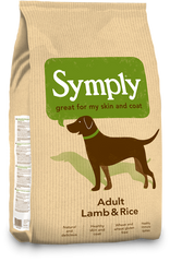 Symply Lamb and Rice Dog Food
