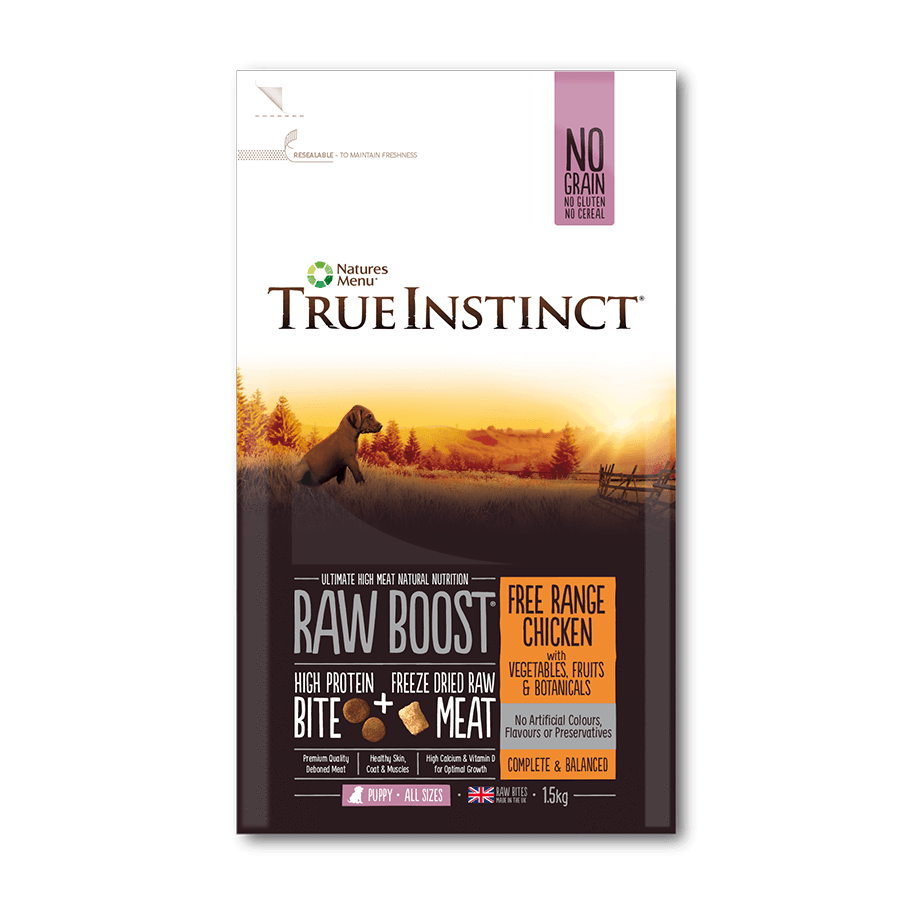 True Instinct Raw Boost - Free Range Chicken For Puppies 1.5kg