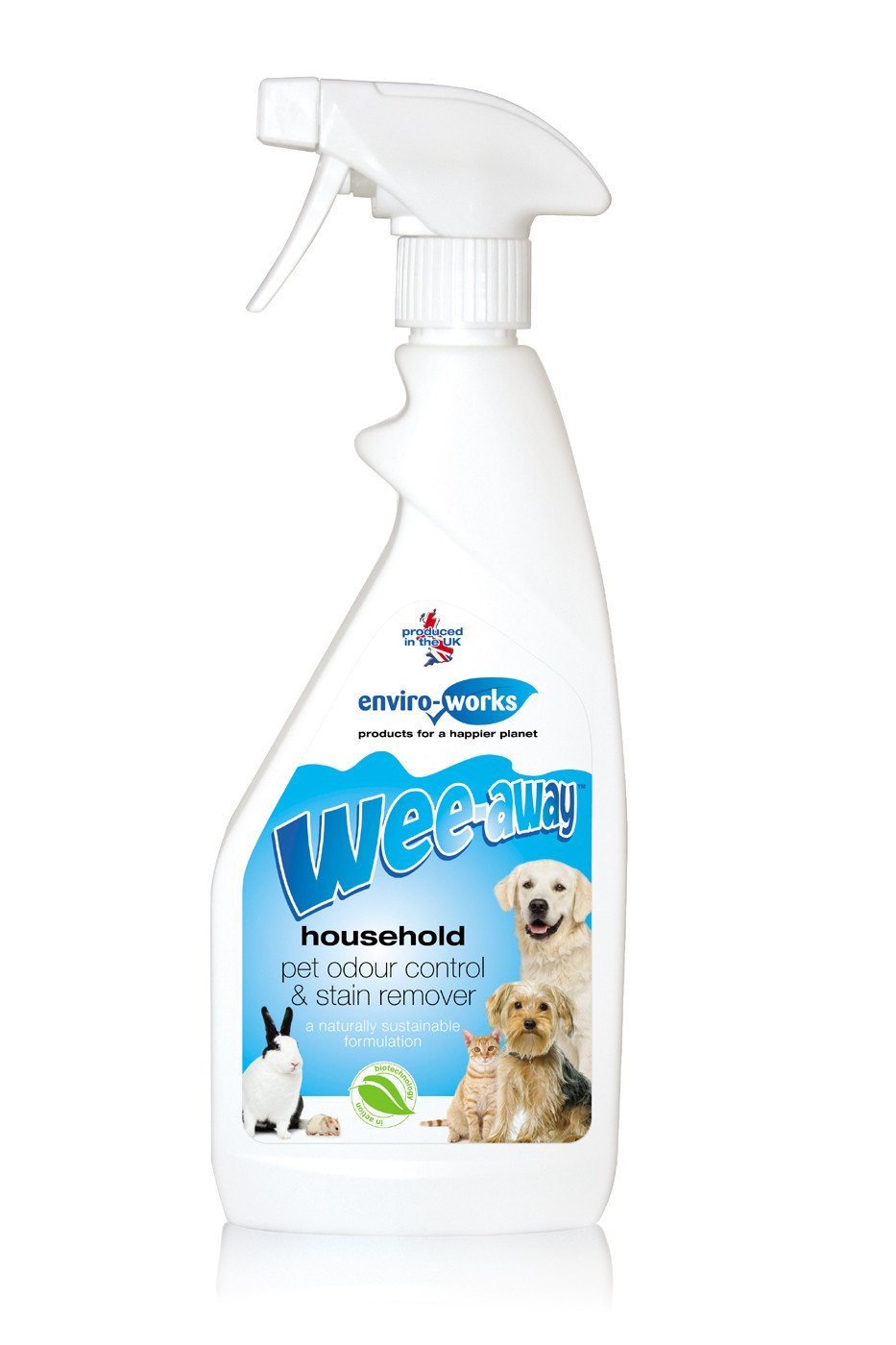 Wee-away Pet Stain & Odour Remover Trigger 500ml