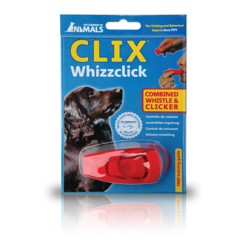 CLIX Whizzclick - Clicker Trainer and Whistle