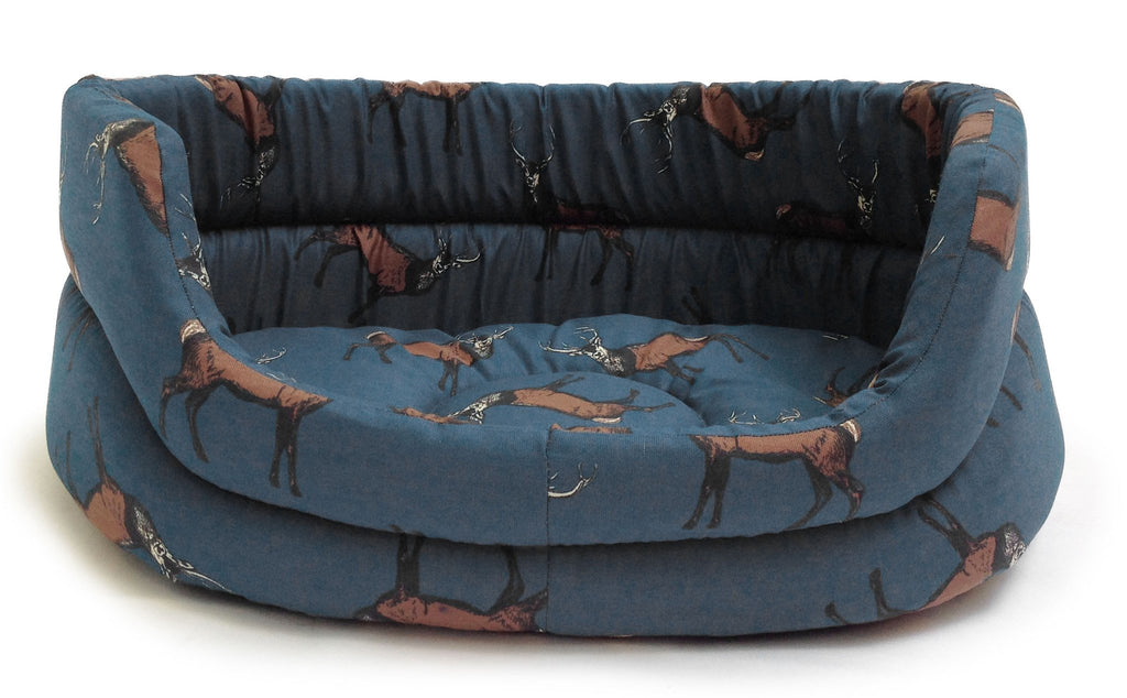Woodland Stag Slumber Dog Bed