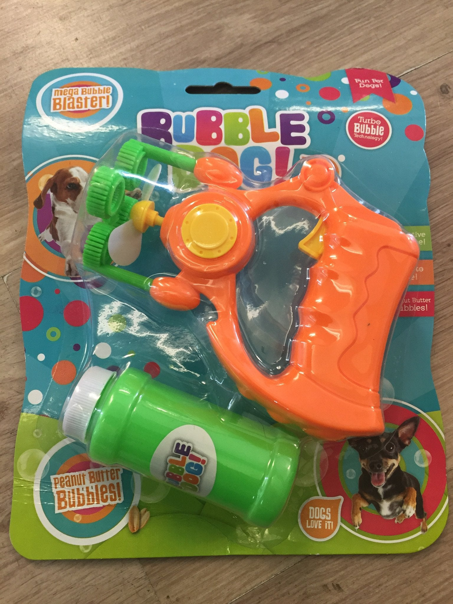 Bubble Dog Turbo Bubble Dog Gun