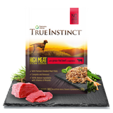 True Instinct High Meat Fillet Wet Pouch - Grass Fed Beef For Dogs 300g x 8pk
