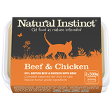 Natural Instinct Beef and Chicken Cat Food 2 x 500g